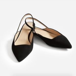 Everlane Editor Slingback in black